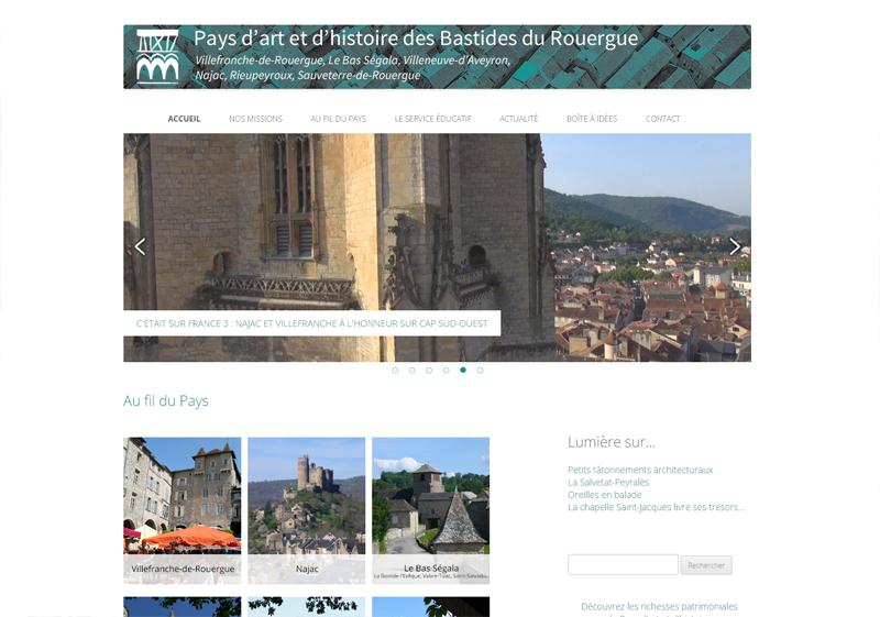 le site des Bastides - un site avancé