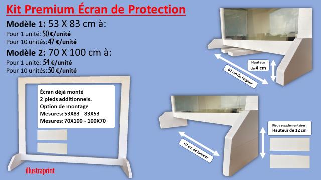 vente kit premium écran de protection